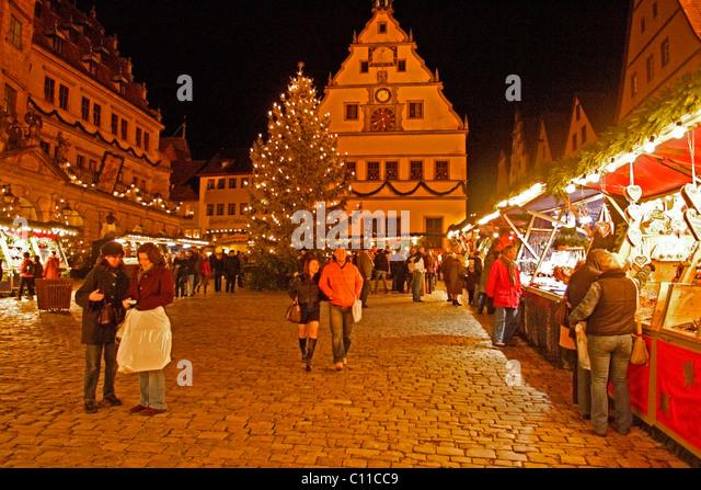 rothenburg ob der tauber christmas market hours