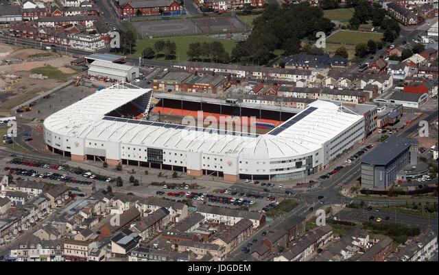 Car Park Near Blackpool Football Ground