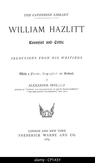 essayist william