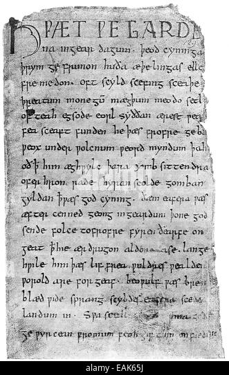 beowulf an anglo saxon epic poem essay Beowulf is the longest and greatest surviving anglo-saxon poem the setting of the epic is the sixth century in what is now known as denmark and southweste.