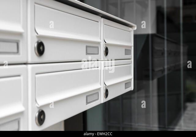 Apartment Building Mailboxes apartment mail box stock photos & apartment mail box stock images