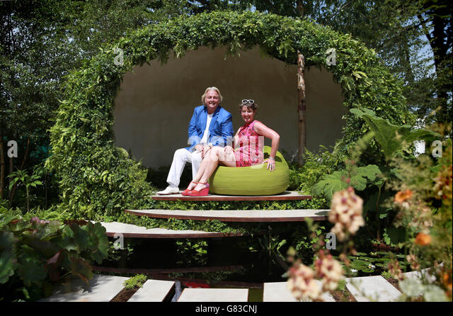 RHS Hampton Court Palace Flower Show 2015   Stock Image