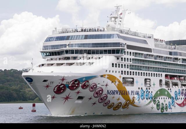 Cruise Ship Norwegian Pearl Stock Photos Cruise Ship Norwegian - Norwegian pearl cruise ship