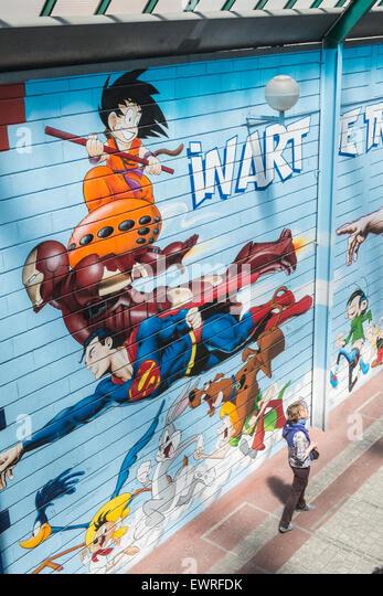 Comic Book Wall Murals comic book art stock photos & comic book art stock images - alamy