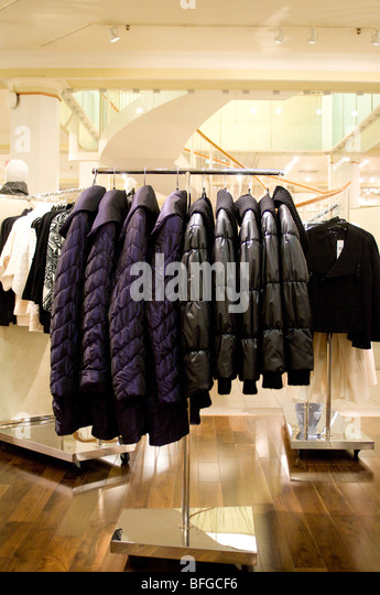Winter Coats Store Stock Photos & Winter Coats Store Stock Images ...