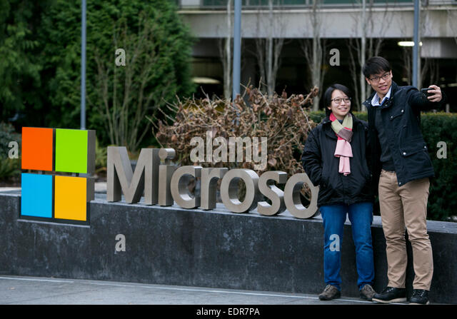 microsoft office in redmond. A Logo Sign Outside The Headquarters Campus Of Microsoft In Redmond, Washington. - Stock Office Redmond