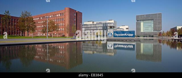 headquarters of thyssenkrupp ag stock photos. Black Bedroom Furniture Sets. Home Design Ideas