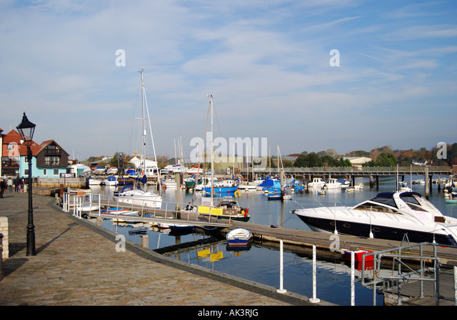 Lymington United Kingdom  city photos : Lymington Harbour, Lymington, Hampshire, England, United Kingdom ...