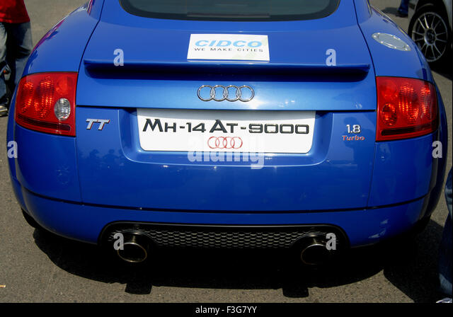 Audi Number Plate Stock Photos Audi Number Plate Stock Images - Audi car number