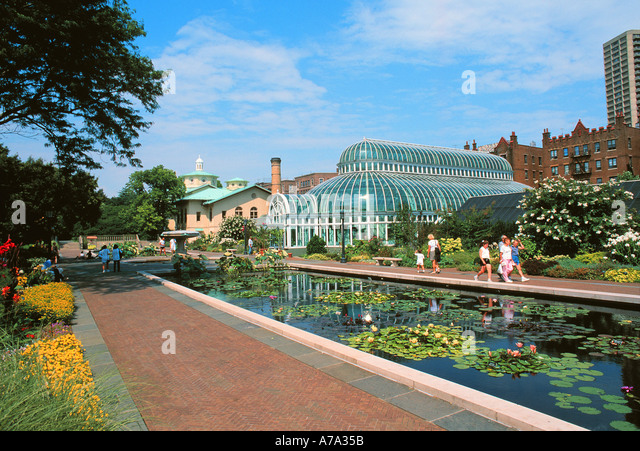 Brooklyn Botanical Gardens Stock Photos Brooklyn