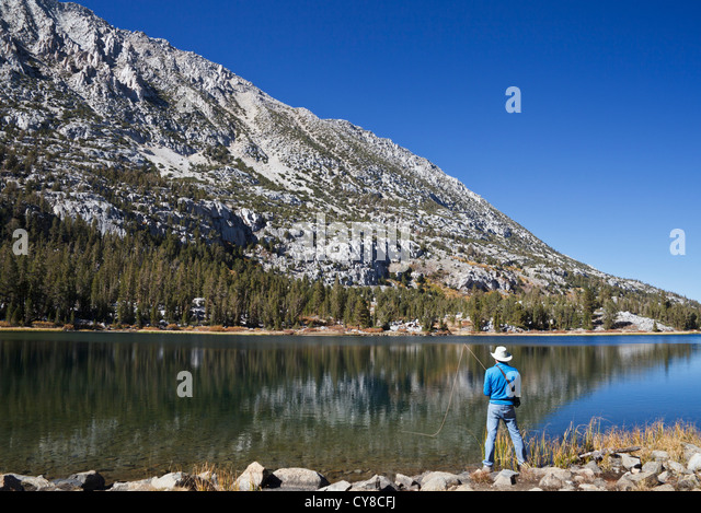 Sport fishing california stock photos sport fishing for Canyon lake fishing ca