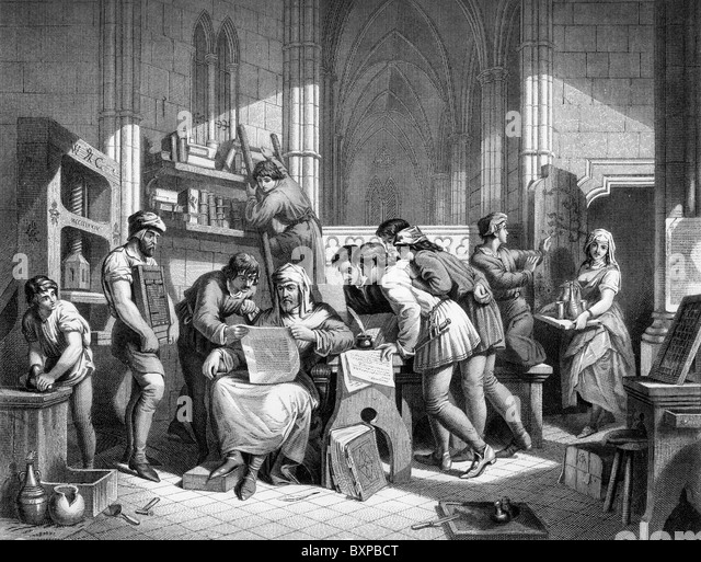 an introduction to the comparison of print and press Introduction at the height of the  that trade exposed europeans to three things important for the invention of the printing press: rag paper, block printing, and, .