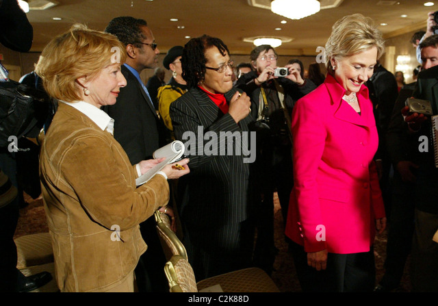 Exceptional Contributing Editor Of Vanity Fair Magazine Gail Sheehy And Senator Hillary  Clinton Hillary Clinton Addressed The
