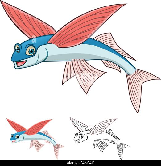 flying fish cartoon - photo #5