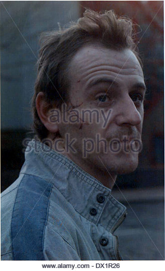 Neville Walker Injured In Ira London Docklands - Stock Image - neville-walker-injured-in-ira-london-docklands-dx1r26
