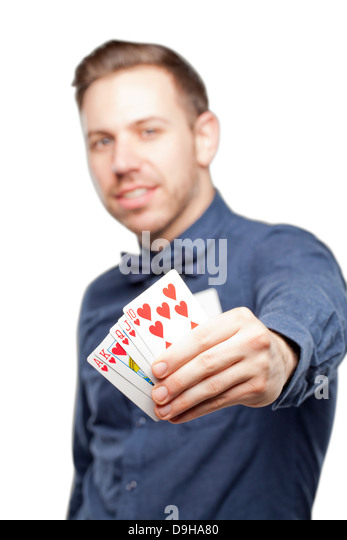 Bow poker player