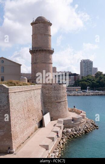 Marseille vieux port culture stock photos marseille - Parking vieux port fort saint jean marseille ...