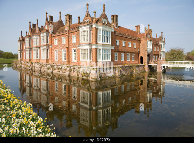 Manor House With Moat Stock Photos Manor House With Moat