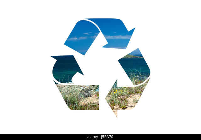 Blue Recycle Symbol Stock Photos Blue Recycle Symbol Stock Images