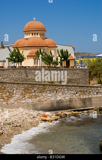 Greek Orthodox Church Rethymnon Stock Photos & Greek ...