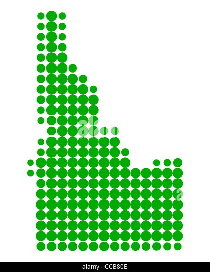 Map Of United States With Dots Stock Photos  Map Of United States