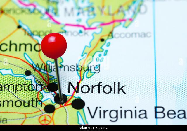 Virginia State Map Stock Photos Virginia State Map Stock Images - Map of virginia usa