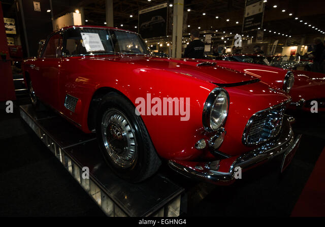 car maserati 3500 gt coupe tipo 101 1959 stock image