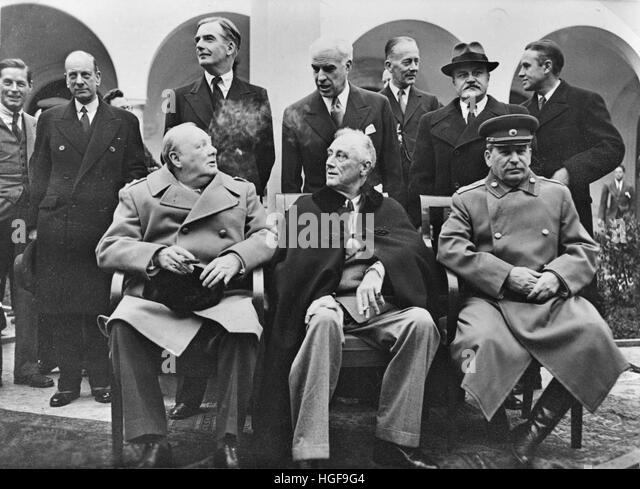 """a history of the yalta conference in crimea Yalta conference 1 by: george harchack brandt baer 2 set in crimea, ukraine wanted to discuss """"summit diplomacy"""" february 4-11, 1945 some ideas adopted from an earlier conference in casablanca 3."""