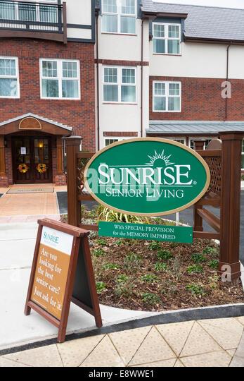 Sunrise Senior Living Residential Care Home In Bramhall Stockport Cheshire UK