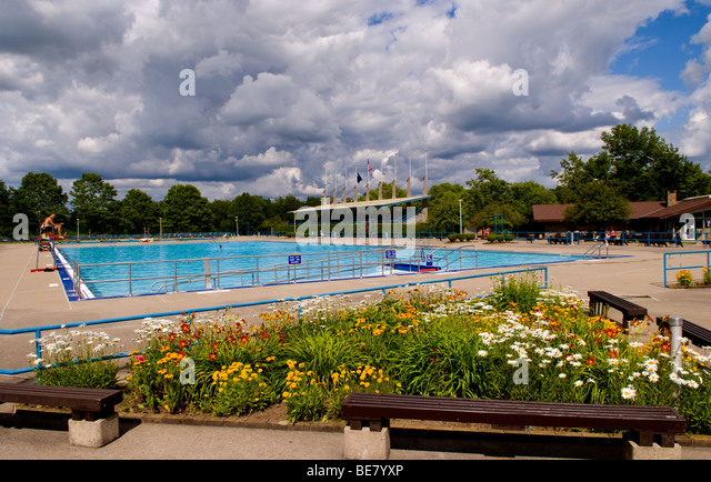 Large public swimming pool with life guard at letchworth - Free public swimming pools near me ...