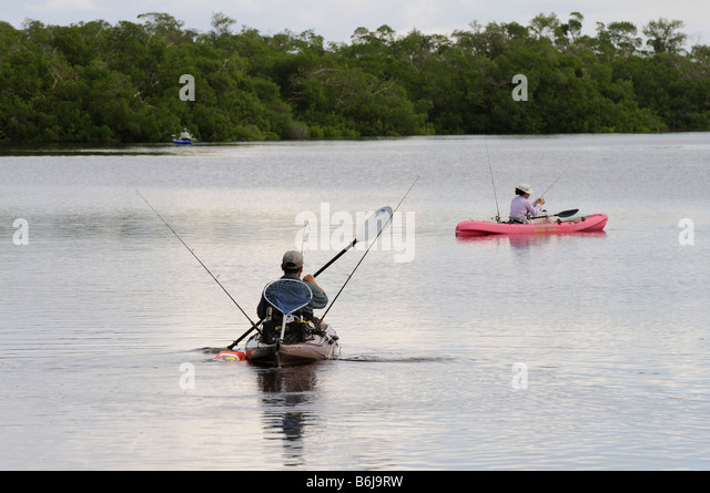 Kayak fishing stock photos kayak fishing stock images for Kayak fishing florida
