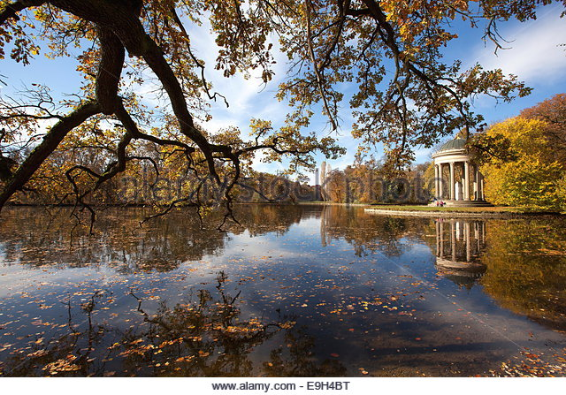in nymphenburg park in munich stock photos in nymphenburg park in munich stock images alamy. Black Bedroom Furniture Sets. Home Design Ideas