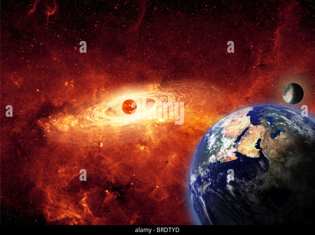Earth Planet Exploding Stock Photos & Earth Planet ...