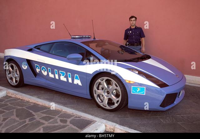 Italian Police Car Stock Photos Italian Police Car Stock Images