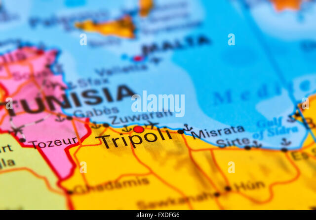 Vector map libya stock photos vector map libya stock images alamy tripoli capital city of libya in africa on the world map stock image gumiabroncs Images
