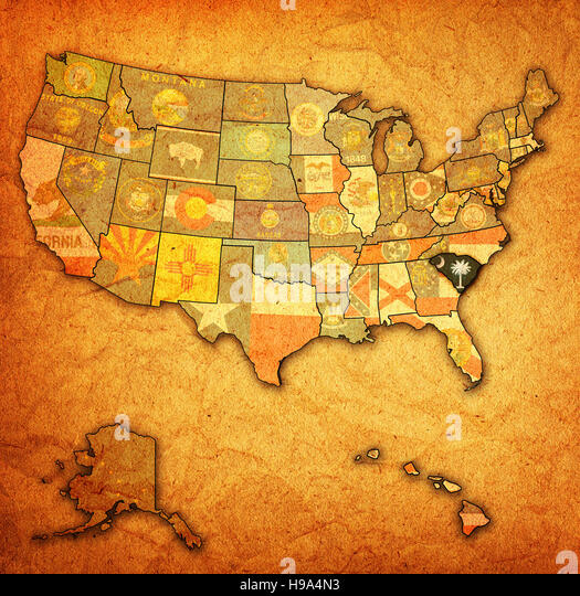 South Carolina Grunge Stock Photos South Carolina Grunge Stock
