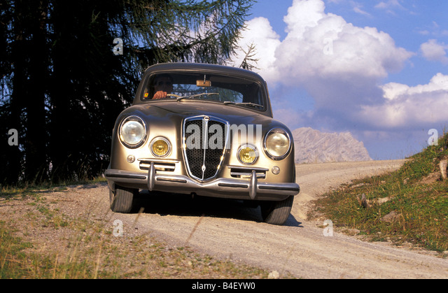 car lancia aurelia b 20 gt vintage car silver grey coup