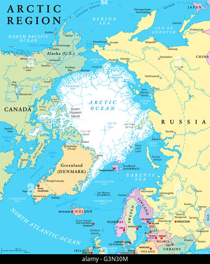 Map Norway Finland Sweden Denmark Stock Photos Map Norway - Norway lakes map