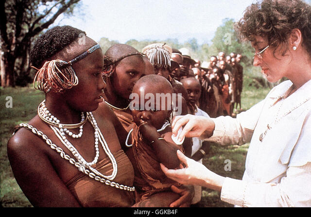 out of africa 1985 meryl streep stock photos out of africa 1985 meryl streep stock images alamy. Black Bedroom Furniture Sets. Home Design Ideas