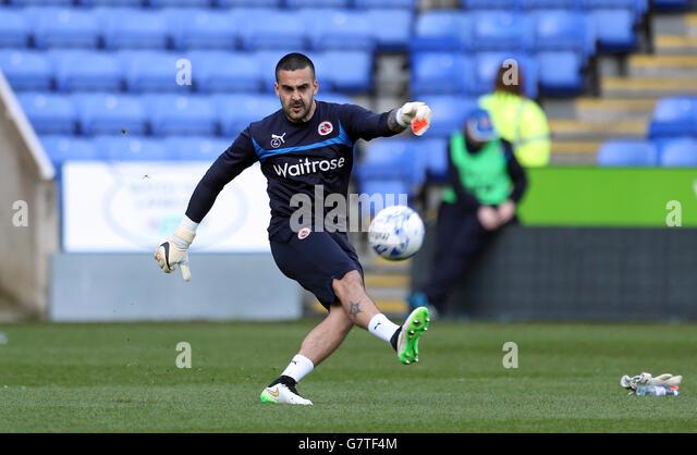 Bournemouth Goalkeeper Adam Federici Stock Photos