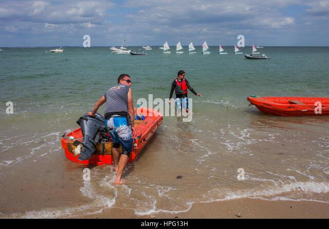 Bois plage stock photos bois plage stock images alamy - Chaises de plage ...