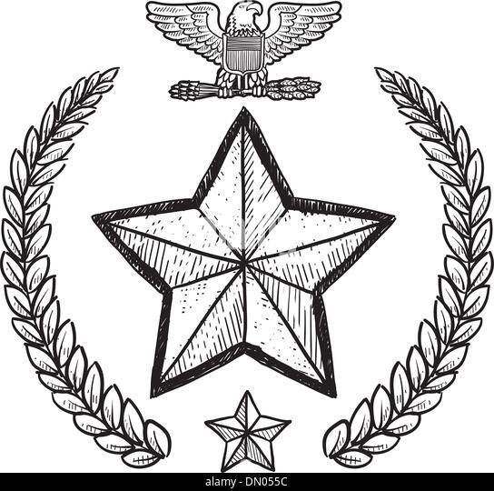 Army symbols black and white dresses