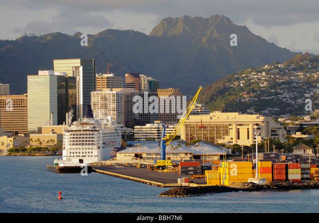 Port Of Honolulu Stock Photos Amp Port Of Honolulu Stock