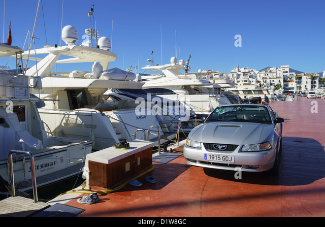 Car yacht stock photos car yacht stock images alamy for Andalusia ford motor company