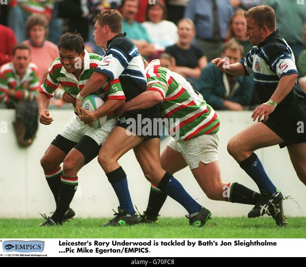 Rugby union rory underwood stock photos rugby union rory for G bathrooms leicester