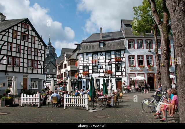 Monschau stock photos monschau stock images alamy for Hotels in eifel germany