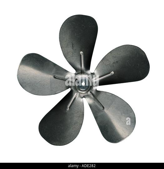 5 Propeller Fan : Fan blades stock photos images alamy