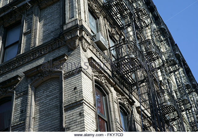 old tenement building nyc stock photos old tenement