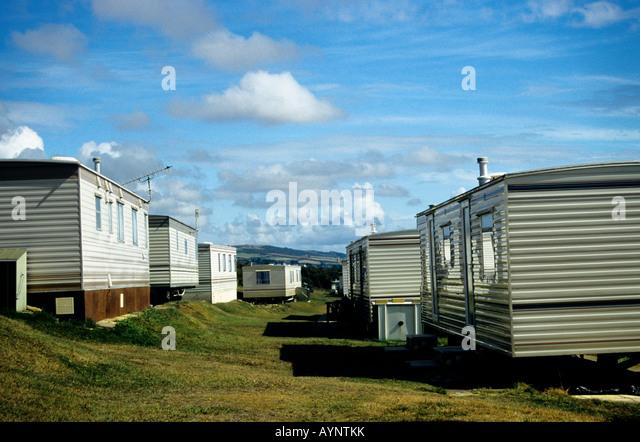 Caravan Park Burton Bradstock Dorset England