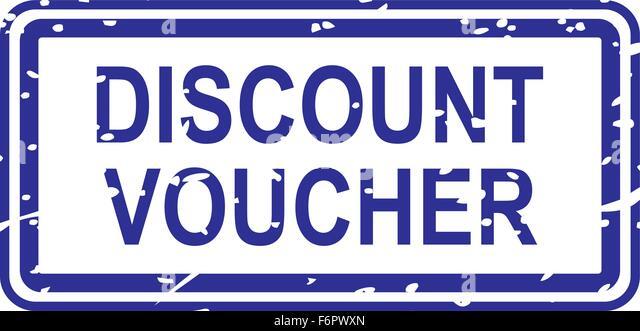 Blank Voucher. Blank Of Discount Voucher Vector Illustration To